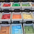Colorful bars of soap — 图库照片