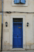 Frontdoor in France — Stock Photo