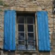 Window with wooden shutters — Foto Stock #11467561