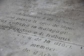 プロバンスの碑文 — ストック写真