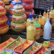 Colorful Provencal Pottery — ストック写真