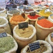 Herbs and spices on a french market — ストック写真