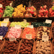 Candy at the market in Barcelona — ストック写真