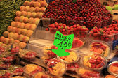 Fruit on a market in Barcelona — Stock Photo