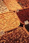 Nuts at the market — Stock Photo