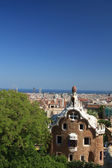 View from Park Güell, Barcelona — Stock Photo