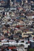 Barcelona stad overzicht — Stockfoto