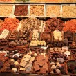 Chocolate and candy at the market — Stockfoto
