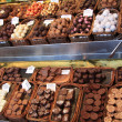 Royalty-Free Stock Photo: Chocolate pralines at a market