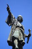 Monumento a cristoforo colombo, barcellona — Foto Stock