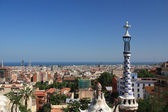Barcelona city overview — Stock Photo