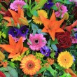 Stock Photo: Mixed floral arrangement in bright colors