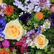 Mixed bouquet in bright colors — Stock Photo #11751757