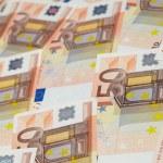 Euro background — Stock Photo
