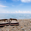 Thongs on the beach — Stock Photo #11072942