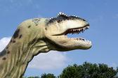 T-rex dinosaur head — Stock Photo