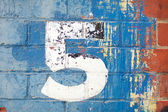 Number Three — Stock fotografie