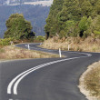 Stock Photo: Winding Country Road