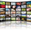 Television production concept. TV movie panels — Stock Photo #12341520