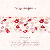 Romantic Background — Stock Vector