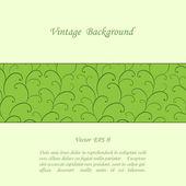 Fondo floral vintage — Vector de stock