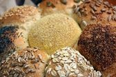 Loaf of Seeded speicality bread — Stock Photo