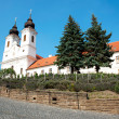 Benedictine abbey in Tihany, Hungary — Stock Photo