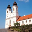 Benedictine abbey in Tihany, Hungary — Stock Photo #11460263