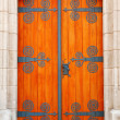 Stock Photo: Decorative door