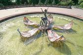 Fountain of Thumbelina — Stock Photo