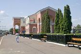 Train station is in city Oryol — Stockfoto