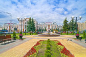 Station in the city of Gomel — Stock Photo