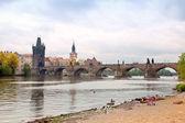 Floden vltava — Stockfoto