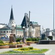 Square in Moscow - Foto Stock