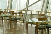Cafe on height — Stockfoto