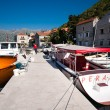 Perast village near Kotor, Montenegro — Stock Photo