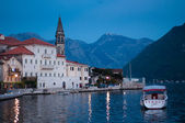 Perast village near Kotor, Montenegro — Stock Photo