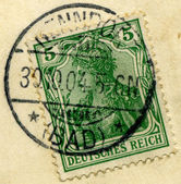 German stamps. — Stock Photo