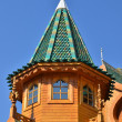 Roof of tower in wooden palace of tzar in Moscow, Russia — Stock Photo