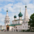 Cathedral with bell tower in Russia — Stock Photo