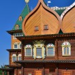 Wooden palace of tzar in Kolomenskoe, Russia — Stock Photo