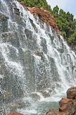 Artificial waterfall, China, Qinhuangdao — Stock Photo