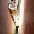 Foto de Stock  : Stradsforii is narrowest streets in Europe, Brasov, Romania