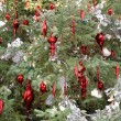 Christmas tree decorations — Foto de stock #10760266