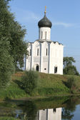 Church of the Intercession on Nerl in Bogolyubovo — Stock Photo