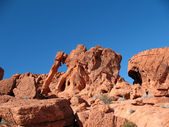 Elephant Rock in Valley of Fire Nevada — Stock Photo