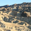 Zabriskie Point Death Valley California - Stock Photo