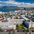 Aerial view of Reykjavik, Iceland — Stock Photo #11974364