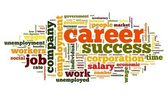 Career concept in word tag cloud — Stock Photo
