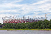 The National Stadium - arena in Warsaw, Poland is almost finished — Foto Stock